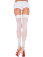 Plus Size Backseam Stockings