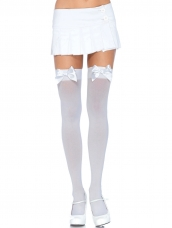 Plus Size Thigh Highs With Bow