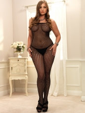 Seamless Crochet Bodystocking