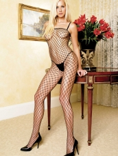 Sexy Fishnet Bodystocking